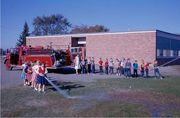 Fire Dept 1963 at Lakeside school