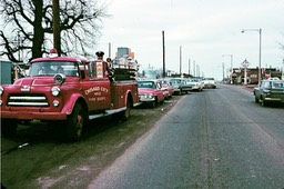 Lined up for parade 1963